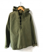 US NAVY(ユーエスネイビー)の古着「ミリタリーレインパーカー」|オリーブ