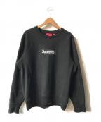 SUPREME()の古着「Box Logo Crewneck Sweatshirt」|ブラック