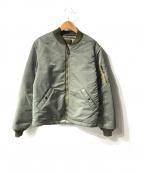 RADIALL()の古着「MA-1ジャケット」|グリーン
