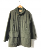 BURBERRY()の古着「コート」|オリーブ