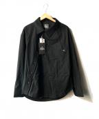 Vivienne Westwood man()の古着「アシンメトリーシャツ」 ブラック
