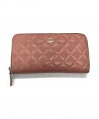 CHANEL()の古着「財布」|ピンク