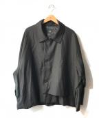 HARE(ハレ)の古着「ビッグジップジャケット」 ブラック