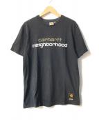 ()の古着「NHCH S/S LOGO T-SHIRT」 ブラック