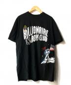BILLIONAIRE BOYS CLUB(ビリオネアボーイズクラブ)の古着「MOONWALK 50th TEE」 ブラック