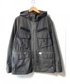UNDERCOVERISM(アンダーカバーイズム)の古着「M-65 フード付ミリタリージャケット」|ブラック
