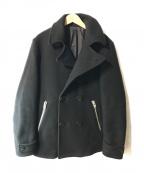 Rags McGREGOR(ラグス マクレガー)の古着「ショートPコート」|ブラック