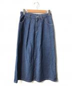 SLOBE IENA(スローブ イエナ)の古着「デニムスカート」|インディゴ