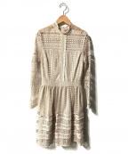 ALL SAINTS(オールセインツ)の古着「rowan dress」|ベージュ