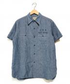 BUZZ RICKSON'S(バズリクソンズ)の古着「デニムシャツ」 インディゴ