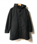 nano・universe(ナノユニバース)の古着「テックフライメルトンロンクコート」 ブラック