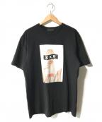 GOD SELECTION XXX(ゴットセレクショントリプルエックス)の古着「LADY GAGA TEE/レディーガガ」|ブラック