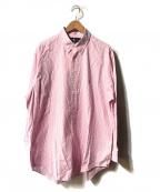 RALPH LAUREN(ラルフローレン)の古着「ボタンダウンシャツ」 ピンク