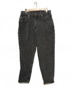 BEAUTY&YOUTH(ビューティアンドユース)の古着「デニムパンツ」 グレー