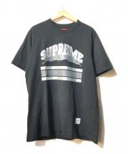 SUPREME (シュプリーム) Cloud Arc Tee/クラウドアーチtee ブラック サイズ:L  19SS