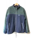 ()の古着「【古着】フリースジャケット」|グレー×ネイビー