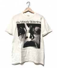 SUPREME (シュプリーム) Feed Me With Your Kiss Tee ホワイト サイズ:S My Bloody Valentine