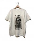 GOD SELECTION XXX(ゴットセレクショントリプルエックス)の古着「プリントTシャツ」|ホワイト