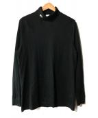 ()の古着「ネック刺繍LS」|ブラック