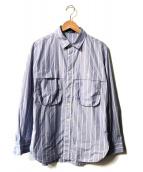 ()の古着「MILITARY SHIRT」|ブルー