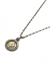 ARIZONA FREEDOM (アリゾナ フリーダム) ゴールド 大太陽神 リング トップネックレス シルバー×ゴールド SILVER925×K18