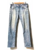 ()の古着「ストレートデニムパンツ」|インディゴ