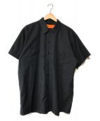 ()の古着「【古着】ワークS/Sシャツ」 ブラック