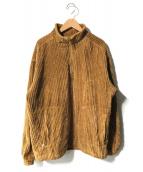 ()の古着「HYSTERIC SOUND刺繍 スタンドプルオーバー」|ベージュ