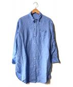 ()の古着「CANCLINI LINO シャツワンピース」|ブルー