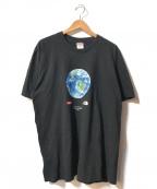 Supreme × THE NORTH FACE(シュプリーム × ザ ノースフェイス)の古着「One World Tee」|ブラック