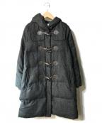 KUMIKYOKU(クミキョク)の古着「ダウンコート」|ブラック