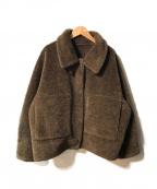 STUNNING LURE(スタニングルアー)の古着「エコムートンジャケット」|ブラウン