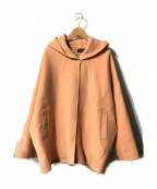 STUNNING LURE(スタニングルアー)の古着「ショートフーディーオーバーコート」|ピンク