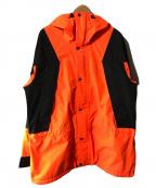 SUPREME×THE NORTH FACE(シュプリーム ×ザノースフェイス)の古着「Mountain Light Jacket」 ブラック×オレンジ