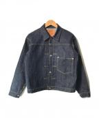 THE REAL McCOY'S(ザリアルマッコイズ)の古着「DENIM JACKET WWII/デニムジャケット」 インディゴ