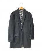 NUMBER (N)INE(ナンバーナイン)の古着「チェスターコート」 ブラック