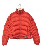 Patagonia(パタゴニア)の古着「ダウンジャケット」 レッド