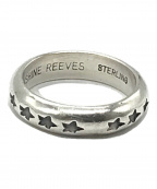 SUNSHINE REEVES(サンシャインリーブス)の古着「スタースタンプリング」|シルバー