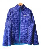 Patagonia(パタゴニア)の古着「マイクロパフジャケット」 ブルー