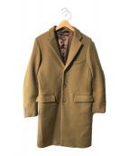 ()の古着「ウールブレンドコート」 オリーブ