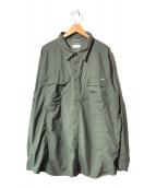 ()の古着「オムニシェイドL/Sシャツ」 グリーン