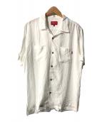 ()の古着「Rayon S/S Shirt/レーヨンS/Sシャツ」 ホワイト