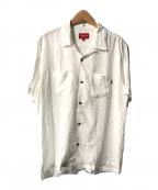 Supreme×PLAY BOY(シュープリーム プレイボーイ)の古着「Rayon S/S Shirt/レーヨンS/Sシャツ」 ホワイト