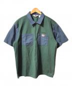 Supreme × BEN DAVIS(シュプリーム × ベンデイビス)の古着「Half Zip Work Shirt/ハーフジップワークシ」|グリーン