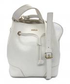 FURLA(フルラ)の古着「レザー2WAYショルダーバッグ」 ホワイト