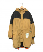 Maison MIHARA YASUHIRO(メゾン ミハラヤスヒロ)の古着「ハイブリッドマウンテンコート」 カーキ