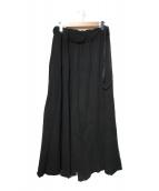 ()の古着「スウェットワイドパンツ」 ブラック