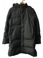 UNIQLO(ユニクロ)の古着「シームレスダウンコート」|ブラック
