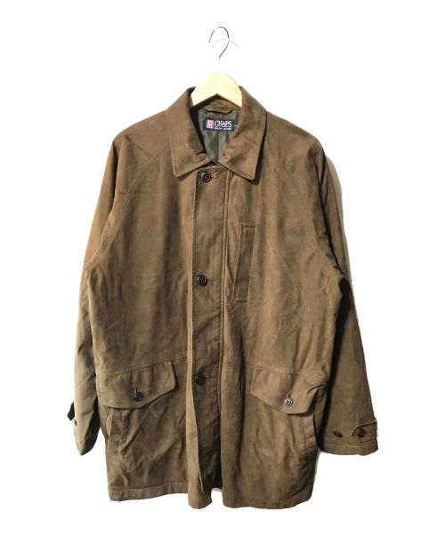 CHAPS RALPH LAUREN(チャップス ラルフローレン)CHAPS RALPH LAUREN (チャップス ラルフローレン) 【古着】スウェードジャケット ブラウン サイズ:Lの古着・服飾アイテム