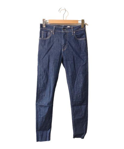 LEVI'S MADE&CRAFTED(リーバイスメイドクラフテッド)LEVI'S MADE&CRAFTED (リーバイスメイドクラフテッド) カットオフストレッチスキニーデニムパンツ インディゴ サイズ:26の古着・服飾アイテム